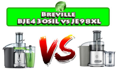 Breville BJE430SIL vs JE98XL: Which Juicer is Better?