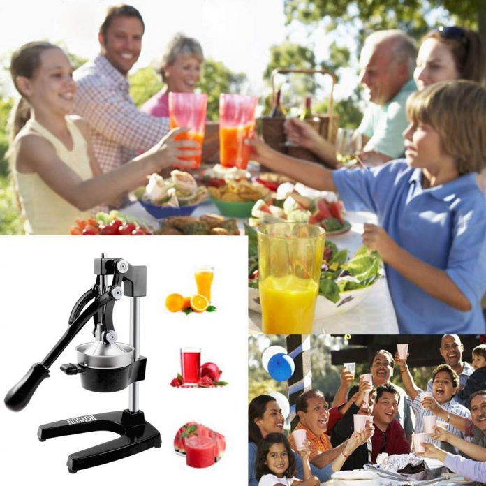 ROVSUN Commercial Grade Citrus Juicer Hand Press Manual Fruit Juicer