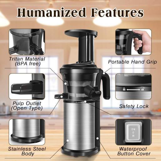 SAGNART Juicer Machine for Vegetables and Fruits