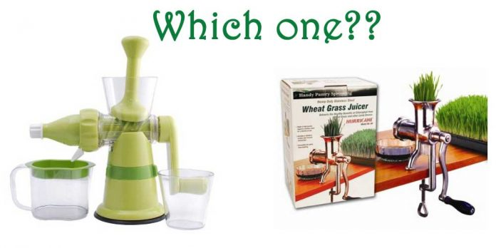 What is the Best Juicer for Wheatgrass?
