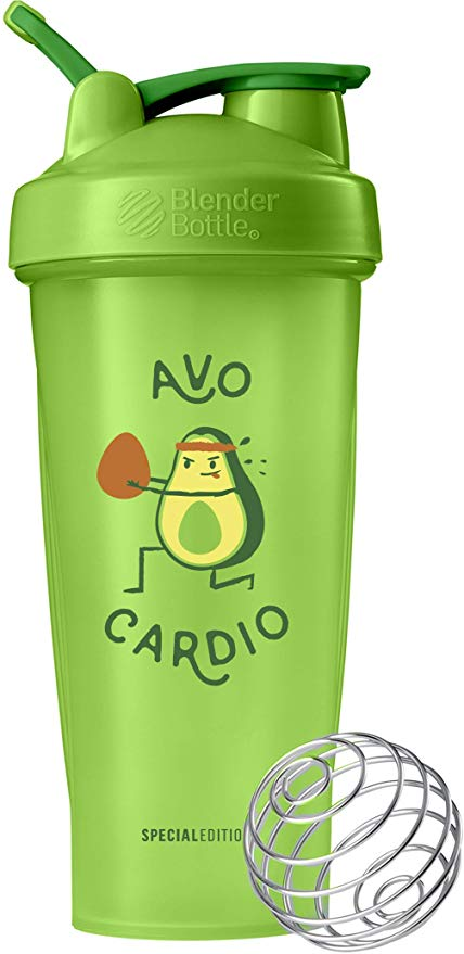 Blender Bottle AVO Cardio 28-Ounce Shaker Bottle