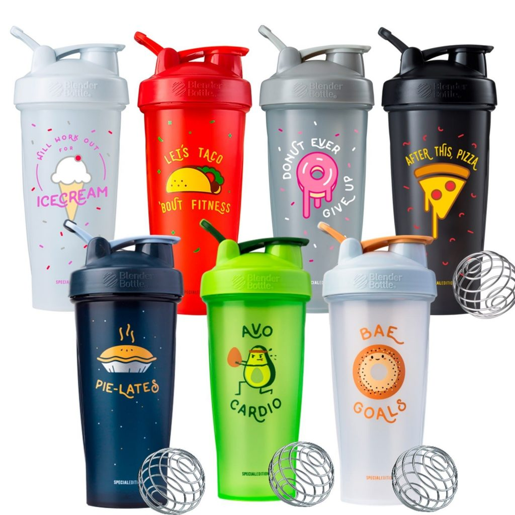 Blender Bottle AVO Cardio 28-Ounce Shaker Bottle