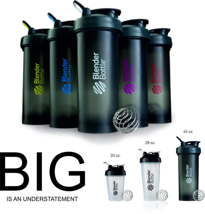 Blender Bottle Pro45 Shaker – Best Protein Shaker bottle