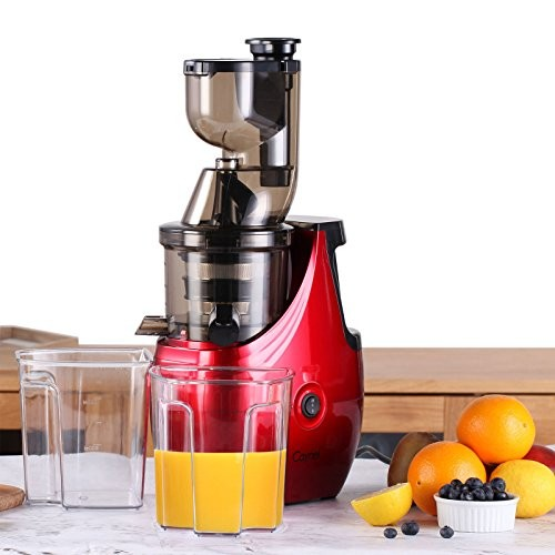 Caynel Slow Masticating Juice Extractor Cold Press Juicer Machine