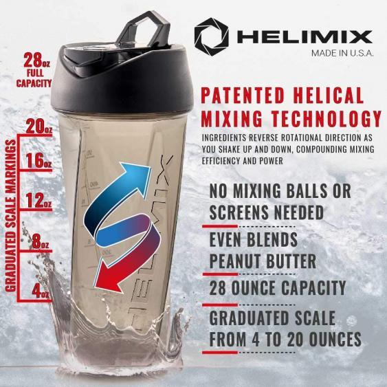 Helimix Vortex Blender Shaker Bottle – Excellent Quality