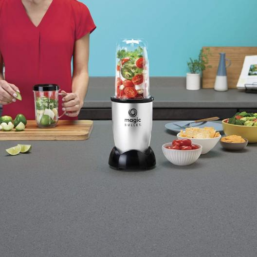Magic Bullet Blender Small Silver
