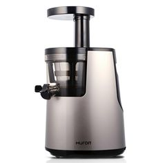 Hurom HH Elite Silver Slow Juicer with Slow Squeeze Technology