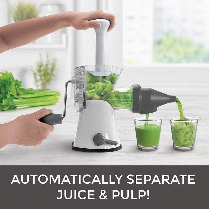 Mueller Elite Masticating Slow Wheatgrass Juicer – Best Manual juicer for travel