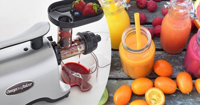Omega J8006 Nutrition Center Juicer, 200-Watt, Metallic