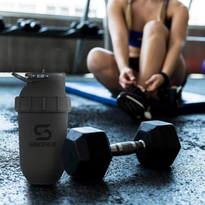 Shake Sphere Tumbler Protein Shaker Bottle