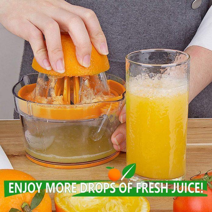 Yimobra Citrus Lemon Orange Juicer – Multi-functional manual juicer