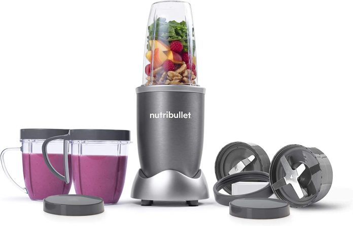 NutriBullet NBR-1201 Blender - Compact, sleek design