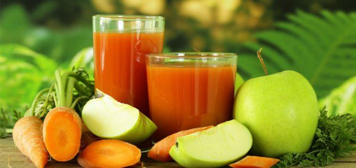 Sweet Potato and Apple Juice