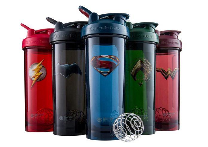 BlenderBottle Justice League Shaker Bottle