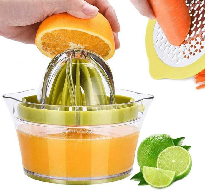 Kasmoire Citrus Orange Squeezer Manual Hand Juicer