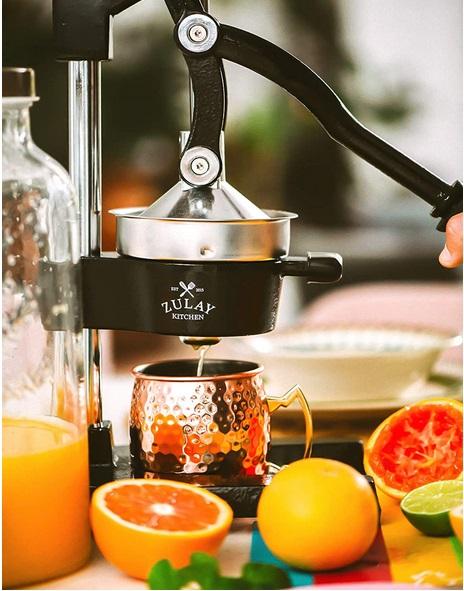 Zulay Professional Citrus Juicer - Manual Citrus Press