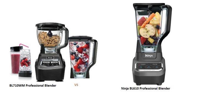 Ninja BL610 vs BL710WM Professional Blender