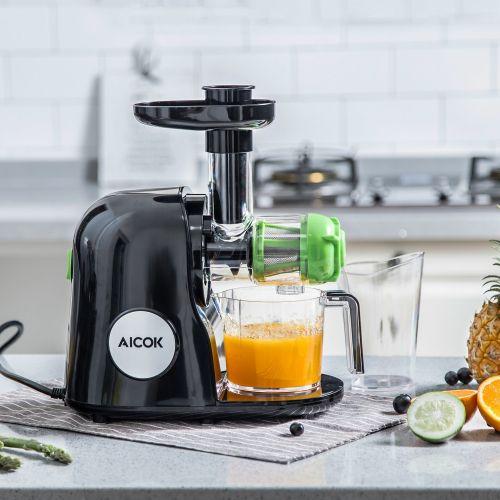 Aicok slow masticating juicer AMR521