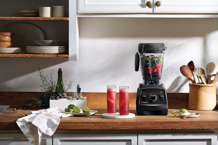 Teal Vitamix Professional Series 750 Blender