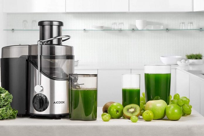 Aicok AMR 526 Wide Mouth Centrifugal Juicer