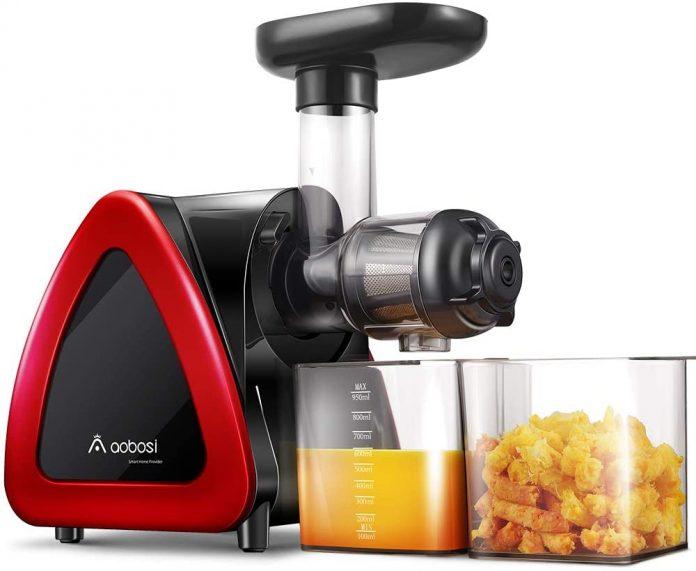 AOBOSI AMR520 Slow Masticating Juicer Extractor